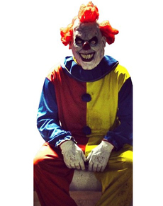 clown kost m clownkost me zirkus kost m horror clown. Black Bedroom Furniture Sets. Home Design Ideas